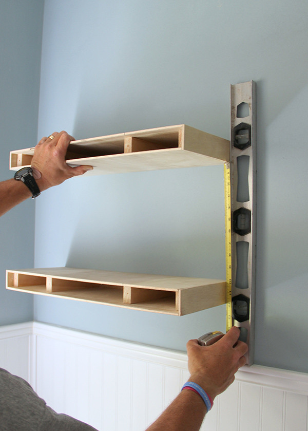 Best ideas about DIY Floating Wall Shelves . Save or Pin DIY Floating Shelves The Home Depot Now.