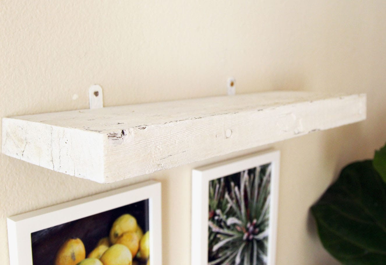 Best ideas about DIY Floating Wall Shelves . Save or Pin Easy Faux DIY Floating Shelves $5 in 15 minutes A Now.