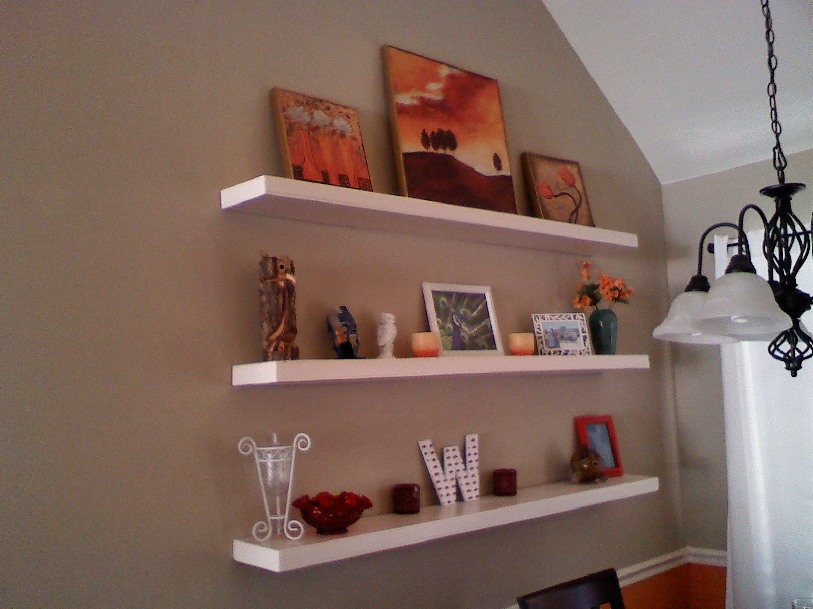 Best ideas about DIY Floating Wall Shelves . Save or Pin Workman Witticisms DIY Floating Shelves Now.