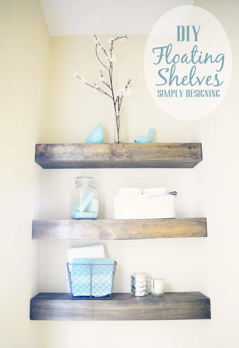 Best ideas about DIY Floating Wall Shelves . Save or Pin DIY Floating Shelves Now.