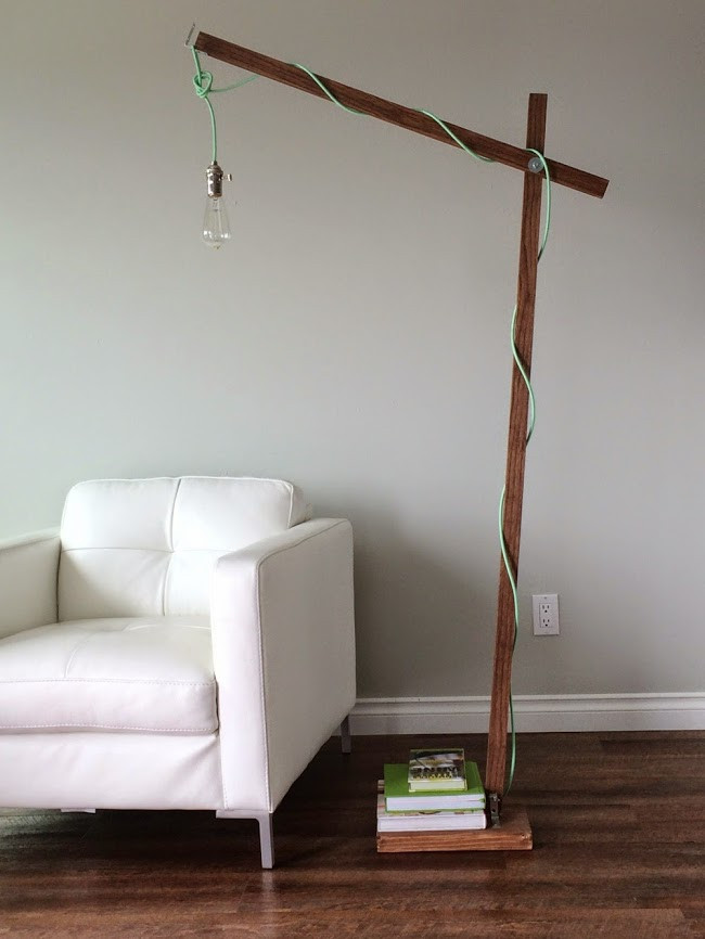 Best ideas about DIY Floor Lamp . Save or Pin Ana White Now.