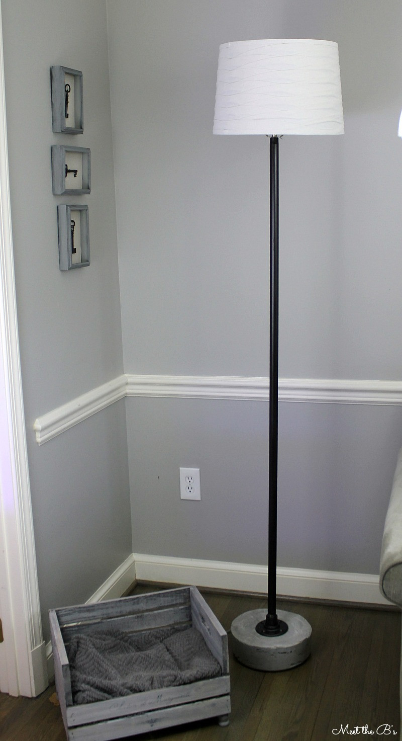 Best ideas about DIY Floor Lamp . Save or Pin Monthly DIY Challenge Industrial Pipe Floor Lamp Now.