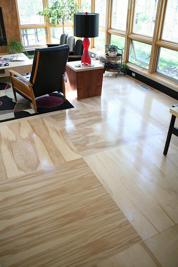 Best ideas about DIY Flooring Options . Save or Pin Plywood Flooring Four Step Plan to Affordable Flooring Now.