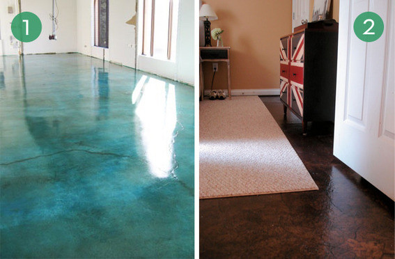 Best ideas about DIY Flooring Options . Save or Pin 10 Easy and Inexpensive DIY Floor Finishes Curbly Now.