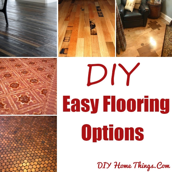 Best ideas about DIY Flooring Options . Save or Pin 15 DIY Easy Flooring Options Now.