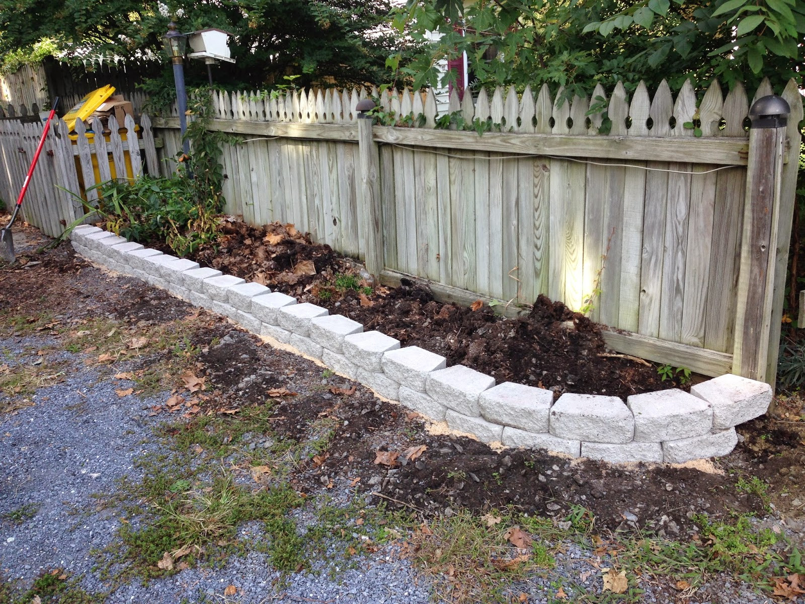 Best ideas about DIY Flower Bed Borders . Save or Pin Pine Whiff House DIY Curb Appeal with a Quick Flower Bed Now.