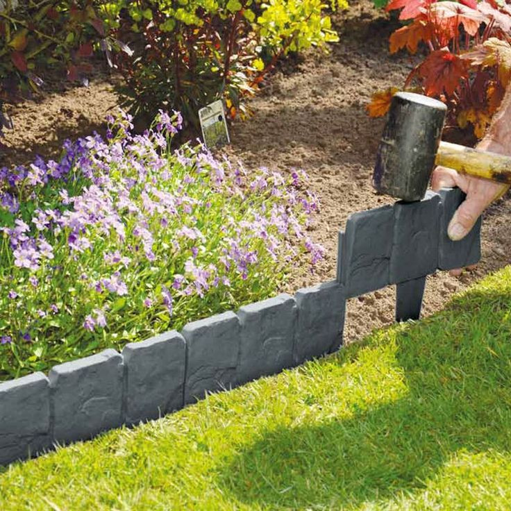 Best ideas about DIY Flower Bed Borders . Save or Pin Best 25 Lawn edging ideas on Pinterest Now.