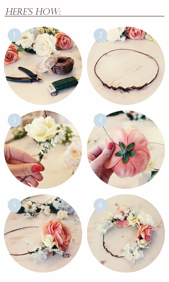 Best ideas about DIY Flower Crown . Save or Pin Kelli Murray Now.
