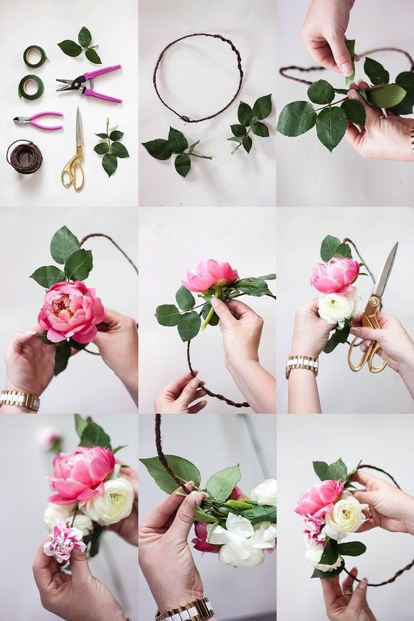 Best ideas about DIY Flower Crown . Save or Pin 25 best ideas about Diy flower crown on Pinterest Now.