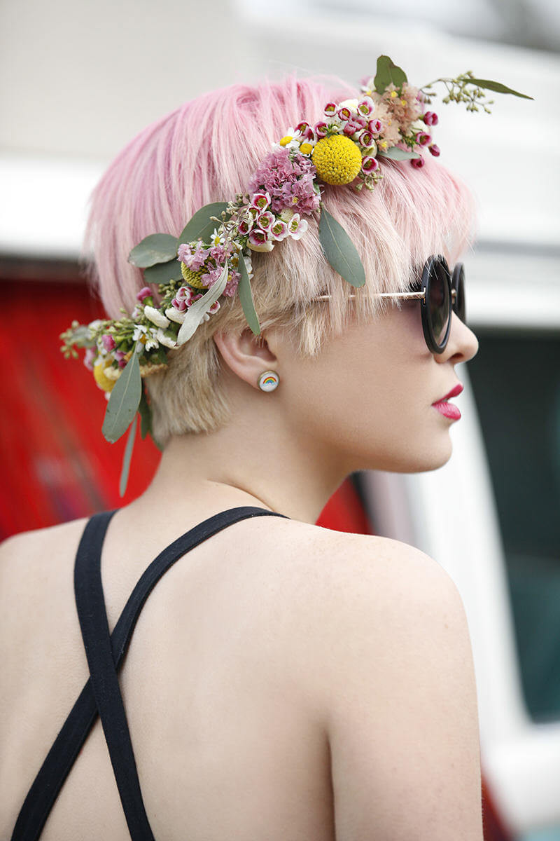 Best ideas about DIY Flower Crown . Save or Pin Make Your Own Festival Flower Crown with This Easy DIY Now.