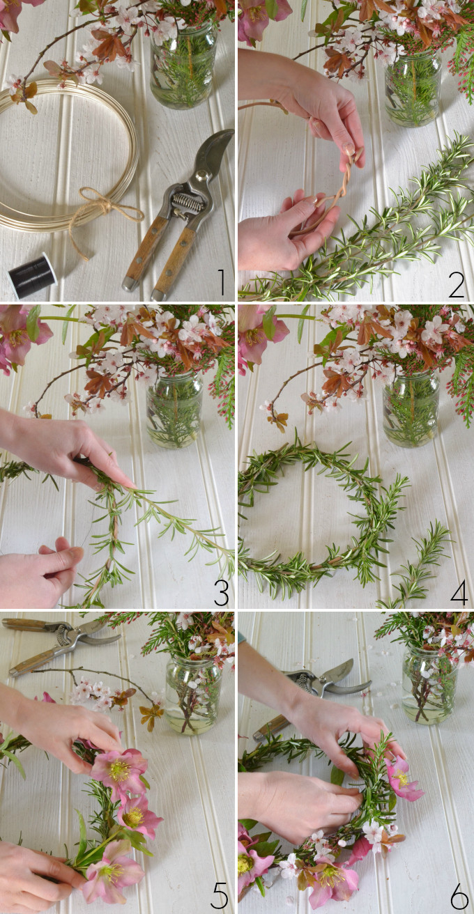 Best ideas about DIY Flower Crown . Save or Pin DIY how to make a spring flower crown Decorator s Notebook Now.