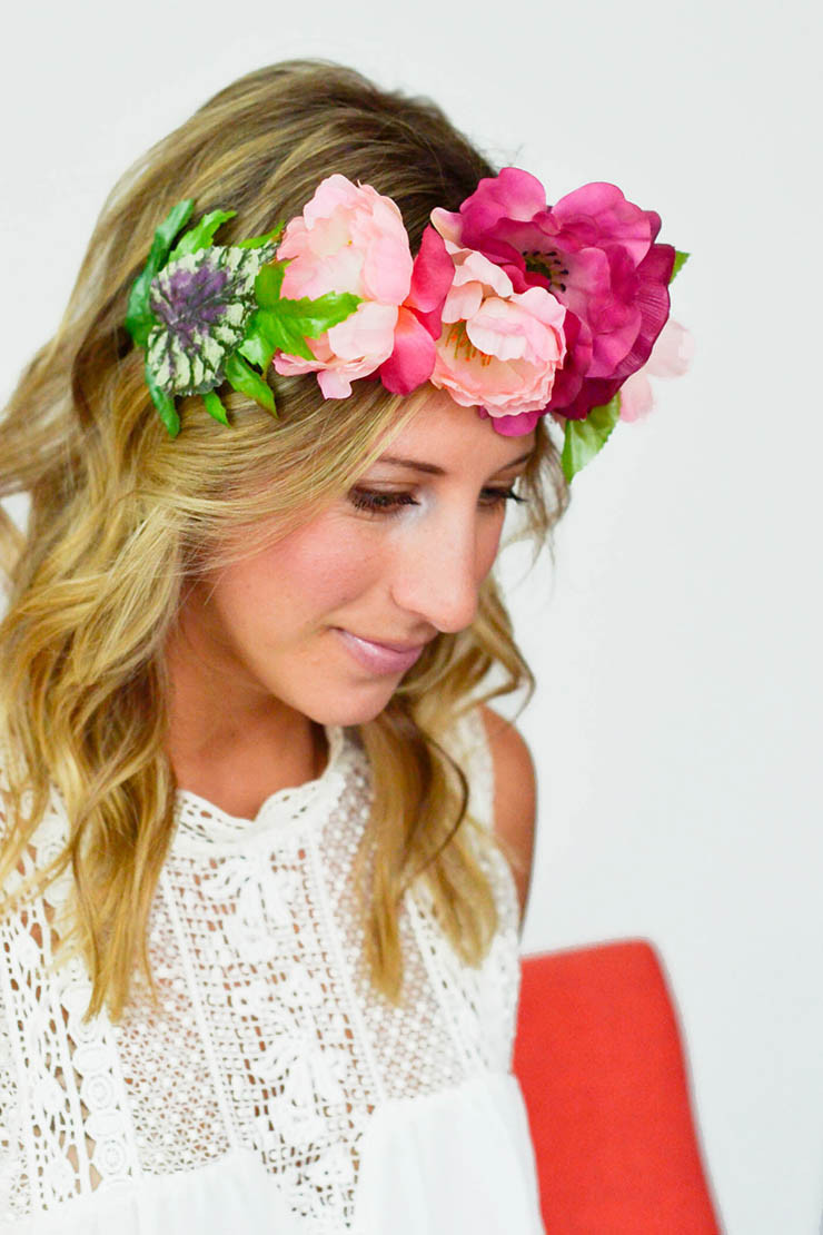 Best ideas about DIY Flower Crown . Save or Pin DIY Flower Crown Now.