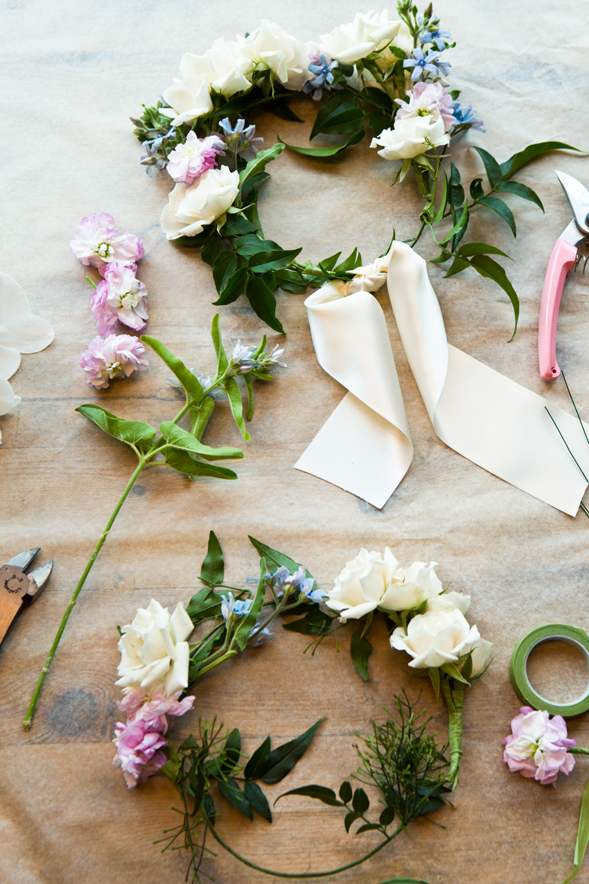 Best ideas about DIY Flower Crown . Save or Pin DIY Flower Crown 11 Now.