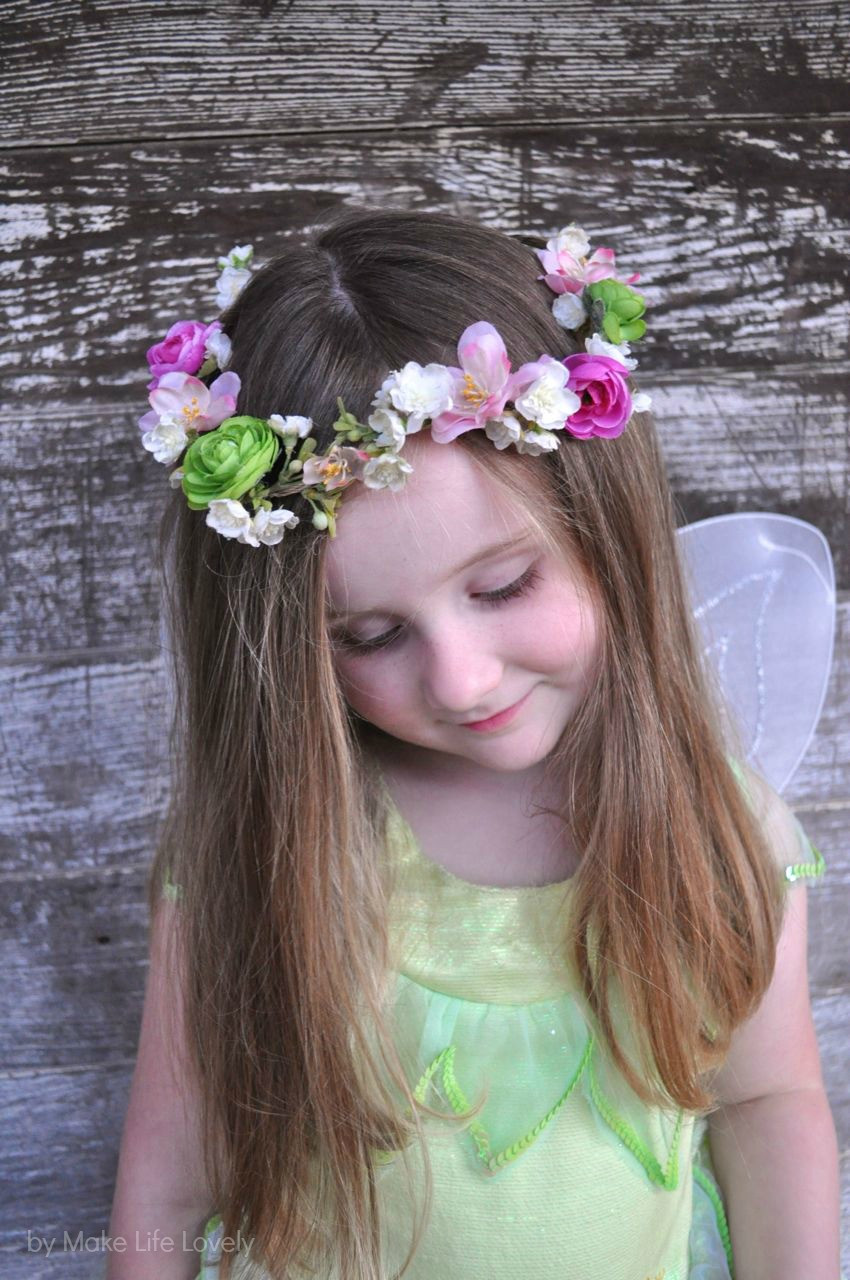 Best ideas about DIY Flower Crown . Save or Pin DIY Flower Crown Make Life Lovely Now.