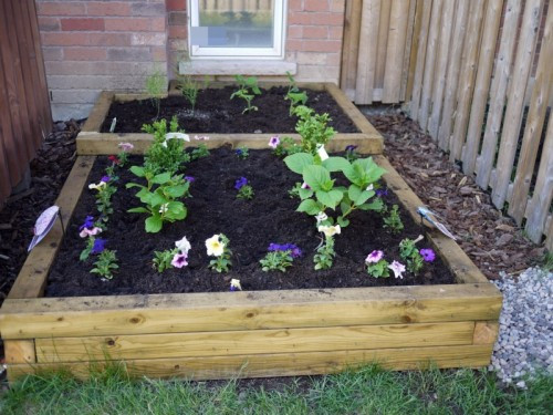 Best ideas about DIY Flower Garden . Save or Pin 7 Simple DIY Flower Beds Shelterness Now.