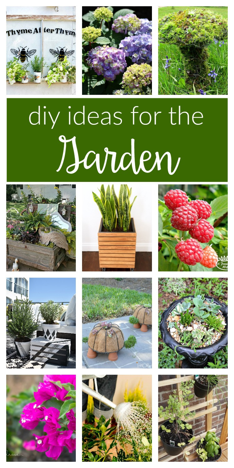 Best ideas about DIY Flower Garden . Save or Pin DIY Garden Ideas Merry Monday 155 two purple couches Now.