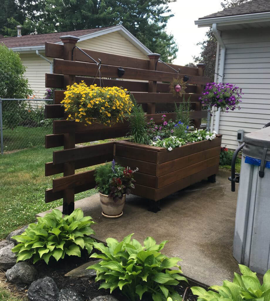 Best ideas about DIY Flower Garden . Save or Pin How to Build a Raised Wooden Planter Box Easy DIY Flower Now.