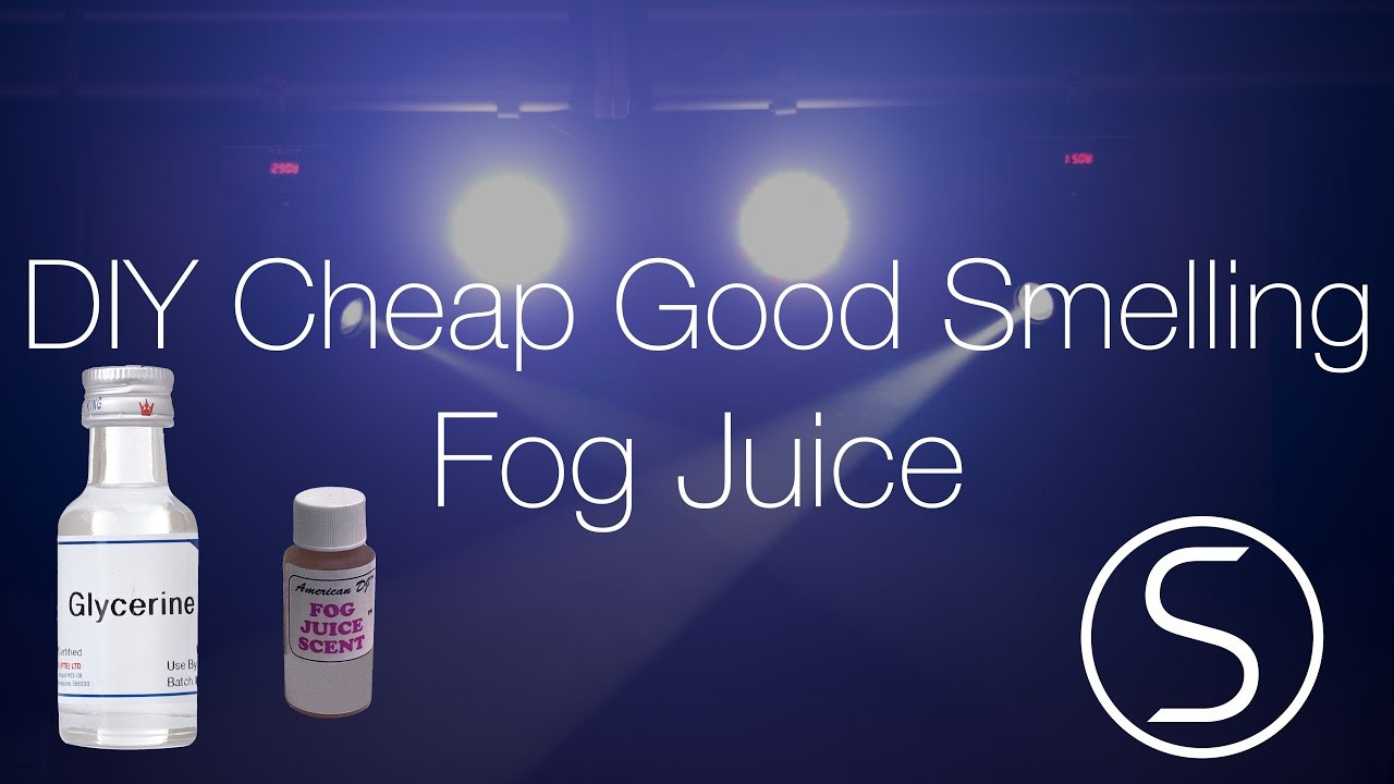 Best ideas about DIY Fog Juice . Save or Pin DIY Cheap Good Smelling Fog Juice Simillion Now.