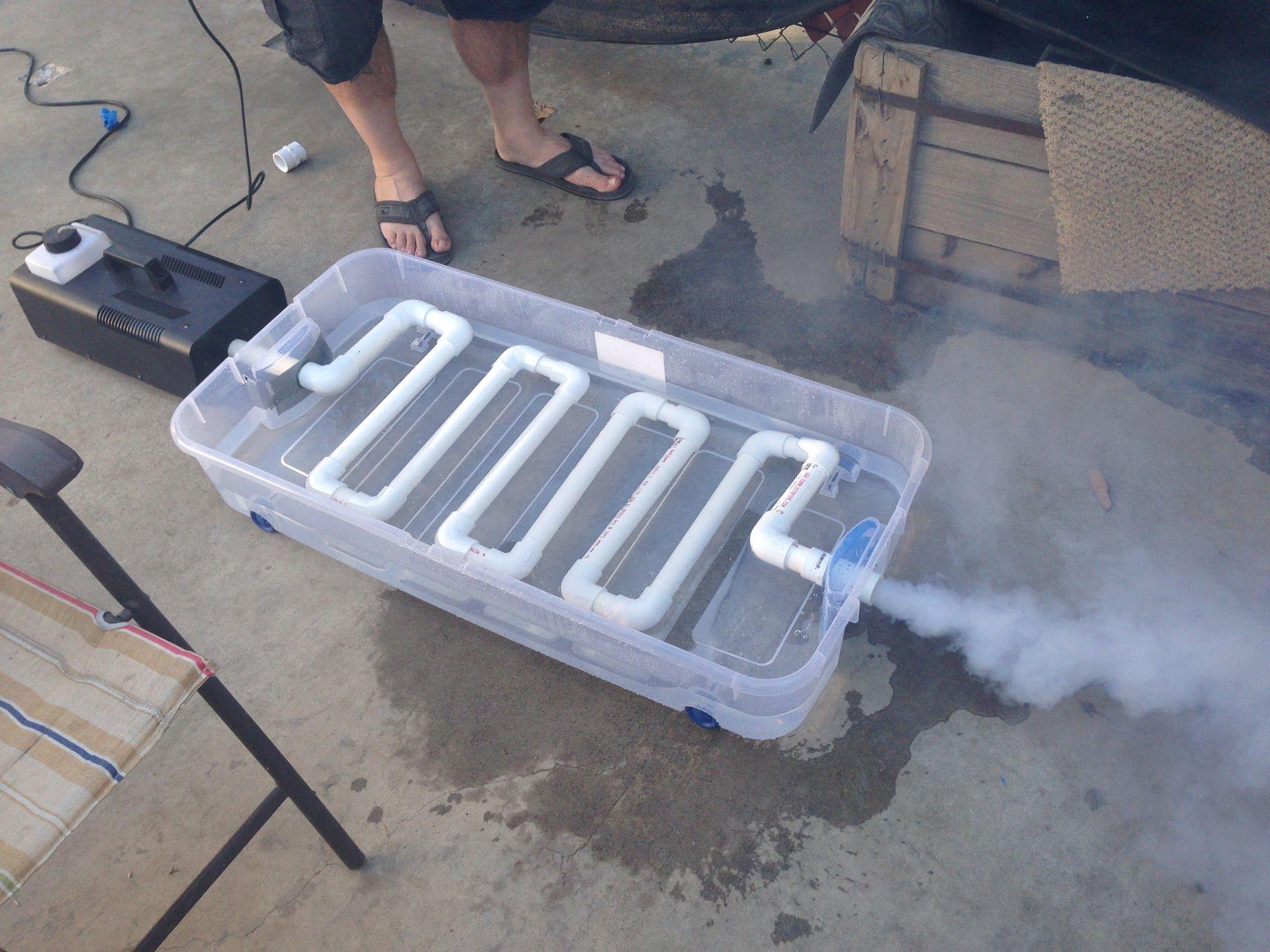 Best ideas about DIY Fog Machine . Save or Pin DIY Fog Machine Chiller Crafty Pinterest Now.