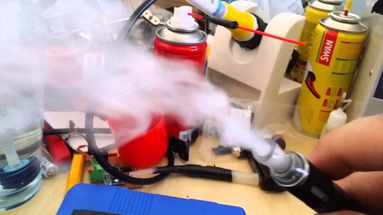 Best ideas about DIY Fog Machine . Save or Pin DIY Fog machine using Ecig and air pump 1st run Now.