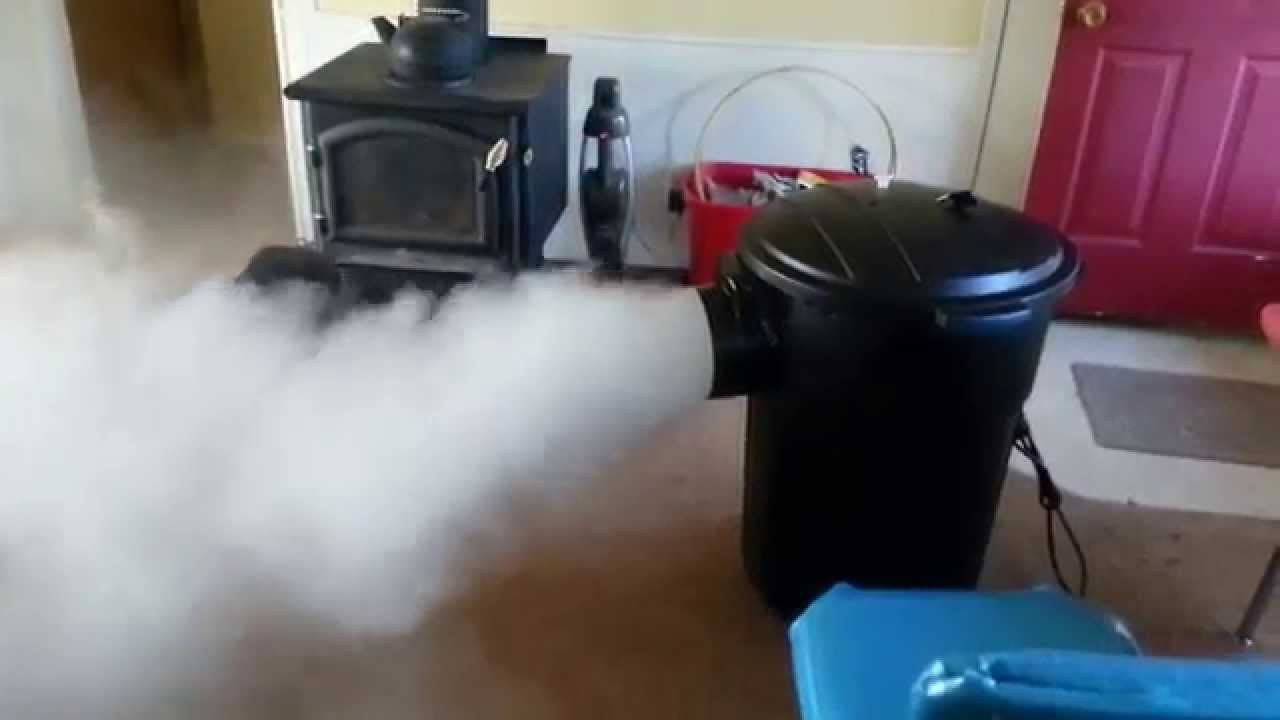 Best ideas about DIY Fog Machine . Save or Pin DIY dry ice fog machine Now.