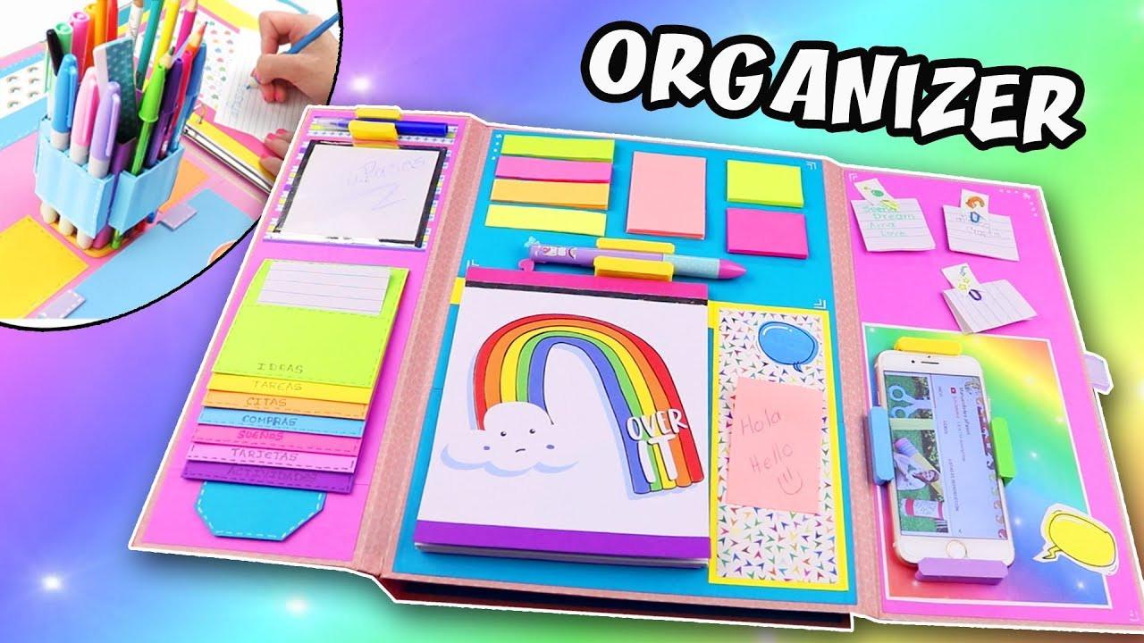 Best ideas about DIY Folder Organizer . Save or Pin DIY FOLDER ORGANIZER BACK TO SCHOOL Now.
