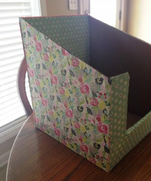 Best ideas about DIY Folder Organizer . Save or Pin DIY File & Paper Organizer Simple Teach Junkie Now.