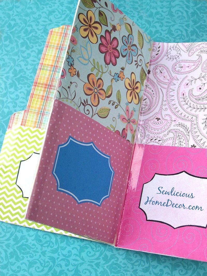 Best ideas about DIY Folder Organizer . Save or Pin Easy Pocket Folder Organizer Tutorial Giveaway Now.