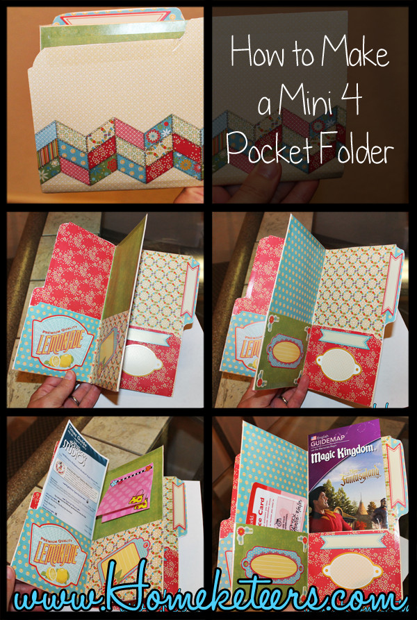 Best ideas about DIY Folder Organizer . Save or Pin How to Make a Mini Pocket Folder Organizer Now.