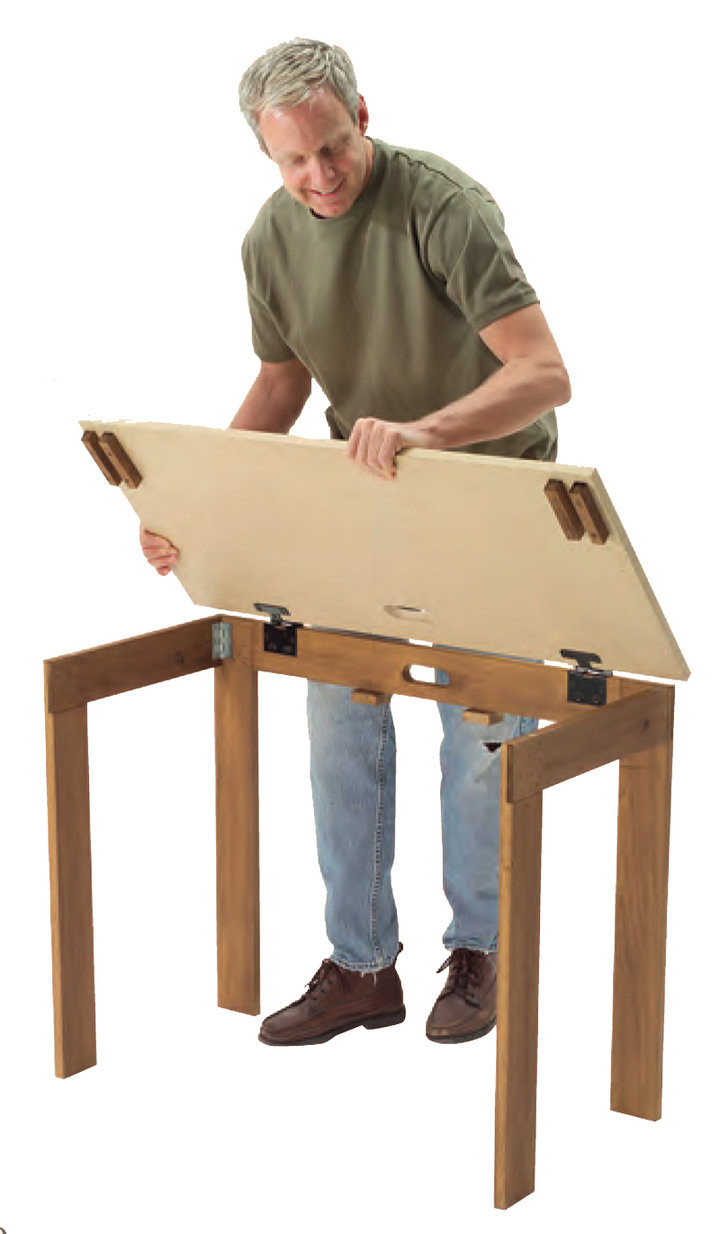 Best ideas about DIY Folding Table . Save or Pin DIY Portable Table Now.