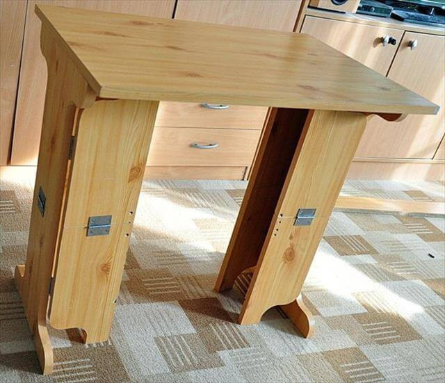 Best ideas about DIY Folding Table . Save or Pin 9 Easy DIY wood Projects Now.