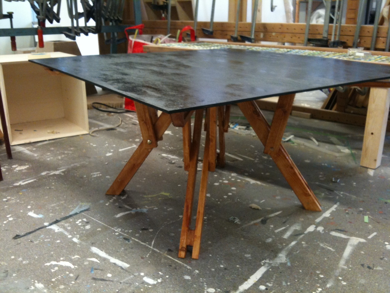 Best ideas about DIY Folding Table . Save or Pin Folding coffee table Now.