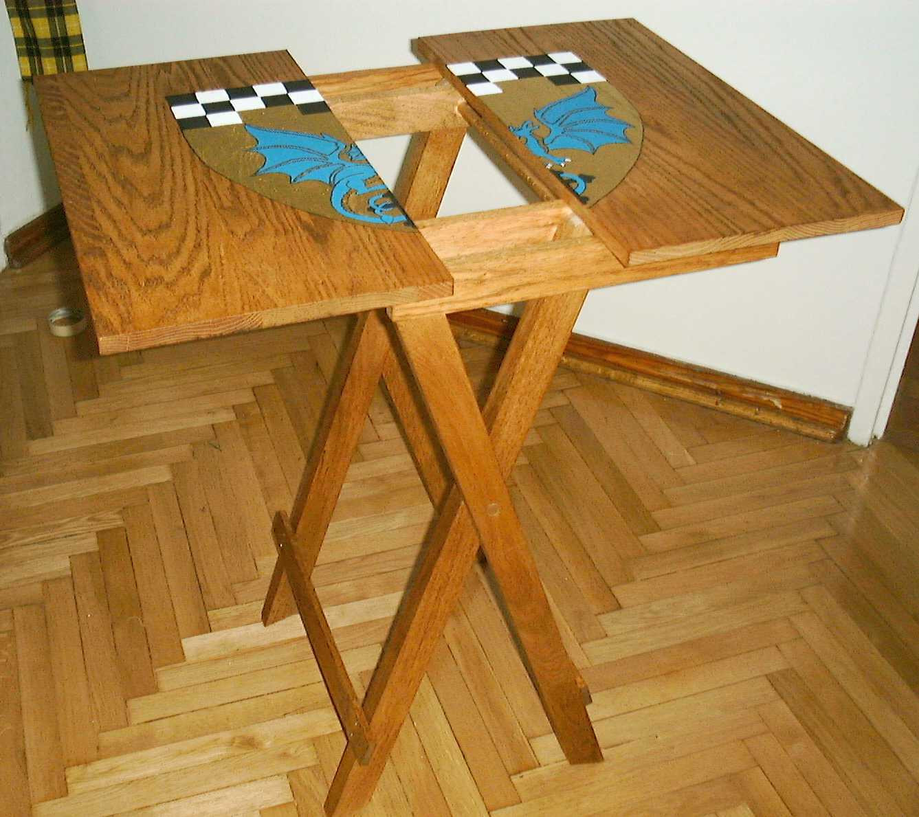 Best ideas about DIY Folding Table . Save or Pin Build DIY Small wood folding table plans Plans Wooden Now.