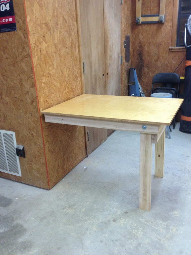 Best ideas about DIY Folding Table . Save or Pin DIY Fold Down Workbench Wilker Do s Now.