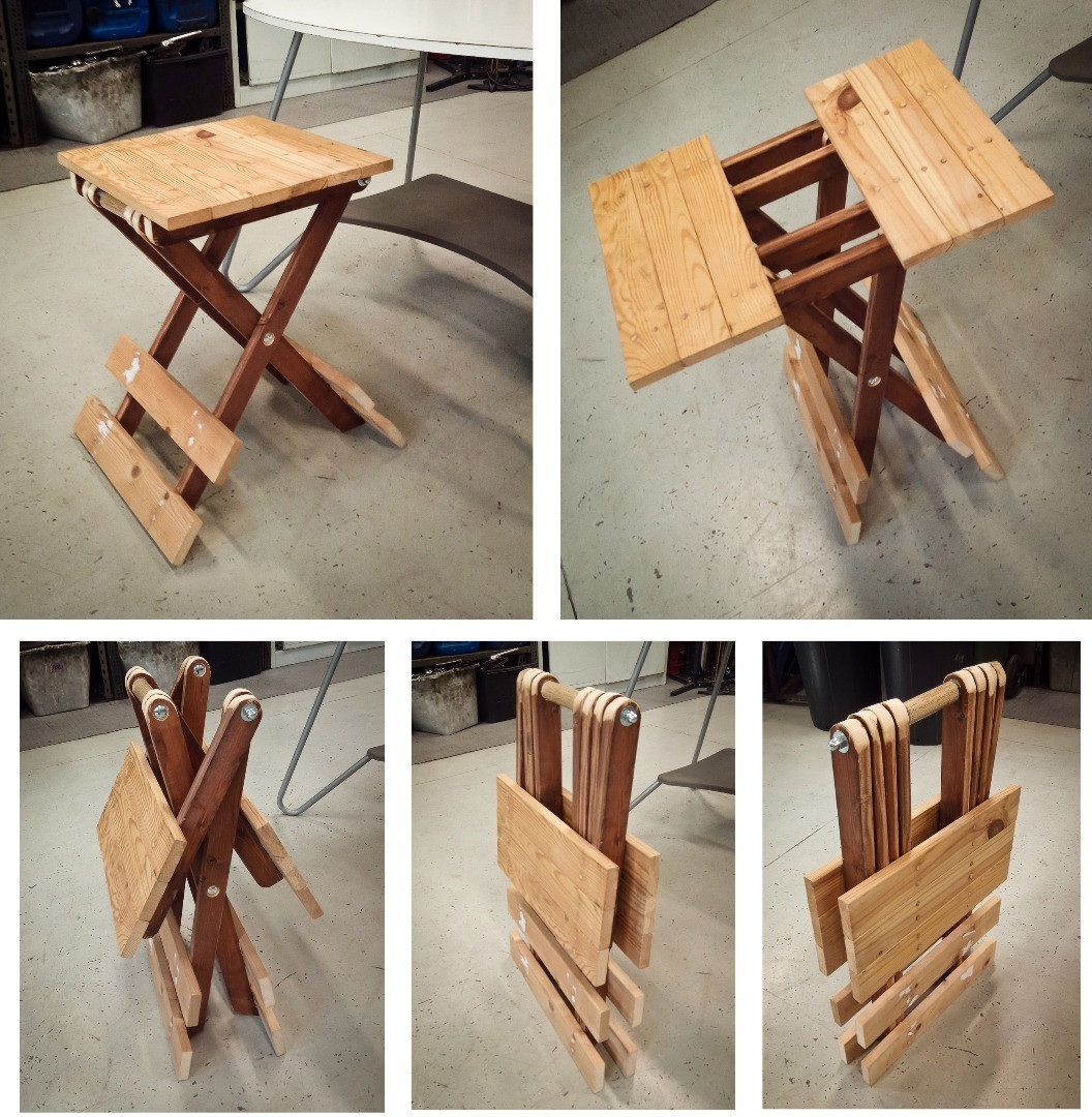 Best ideas about DIY Folding Table . Save or Pin small folding table 4 Now.