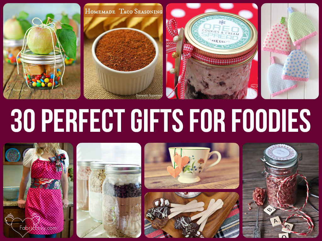 Best ideas about DIY Foodie Gifts . Save or Pin 30 Perfect Gifts For Foo s Now.