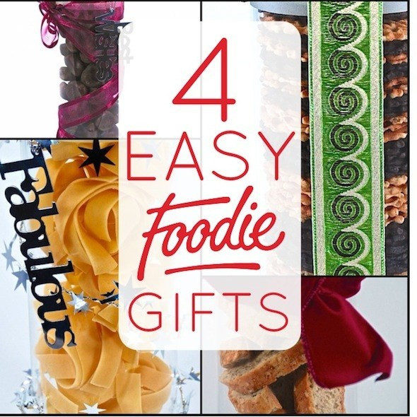 Best ideas about DIY Foodie Gifts . Save or Pin Super Easy DIY Foo Gifts – Lifeovereasy Now.