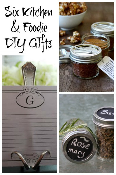 Best ideas about DIY Foodie Gifts . Save or Pin DIY Gifts For Giving the Homemade and Personal Touch Now.