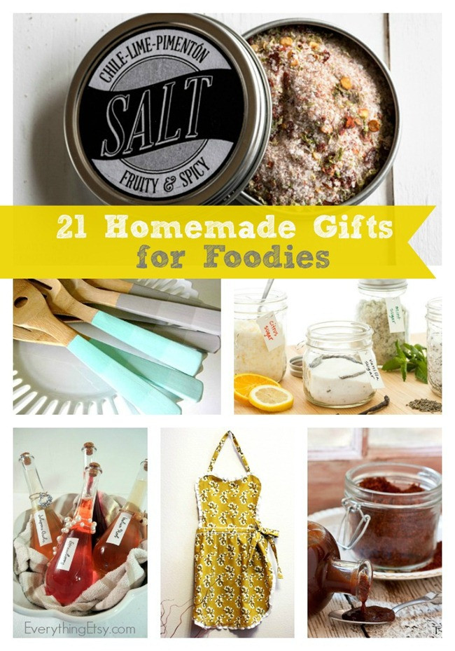 Best ideas about DIY Foodie Gifts . Save or Pin 21 Homemade Gifts for Foo s Now.