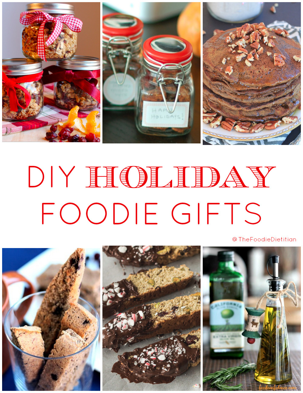 Best ideas about DIY Foodie Gifts . Save or Pin Kara Lydon DIY Holiday Foo Gift Round Up Now.