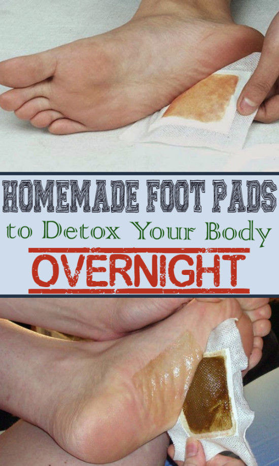 Best ideas about DIY Foot Detox . Save or Pin Homemade Foot Pads To Detox Your Body s Now.