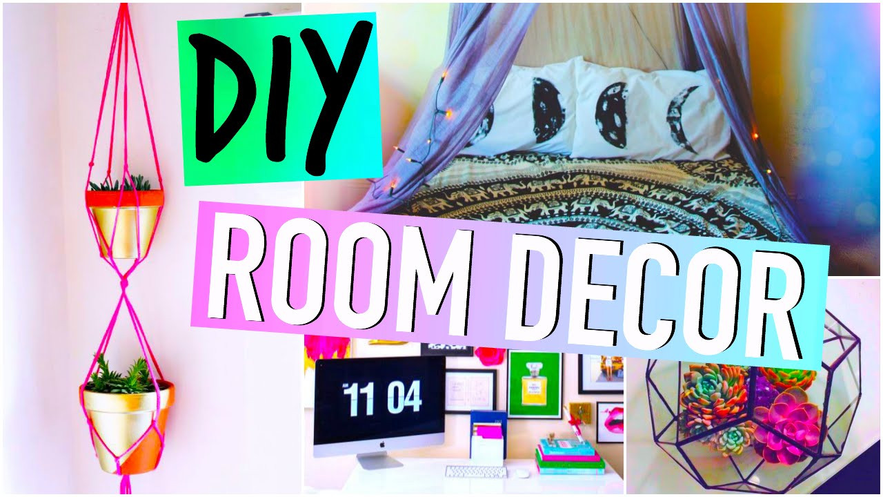 Best ideas about DIY For Room Decorations . Save or Pin DIY Room Decorations Tumblr inspired Now.