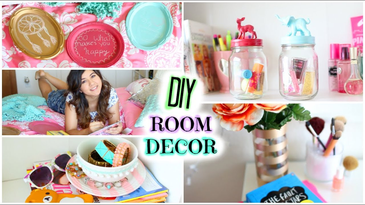 Best ideas about DIY For Room Decorations . Save or Pin DIY Room Decor Cute & Affordable Now.