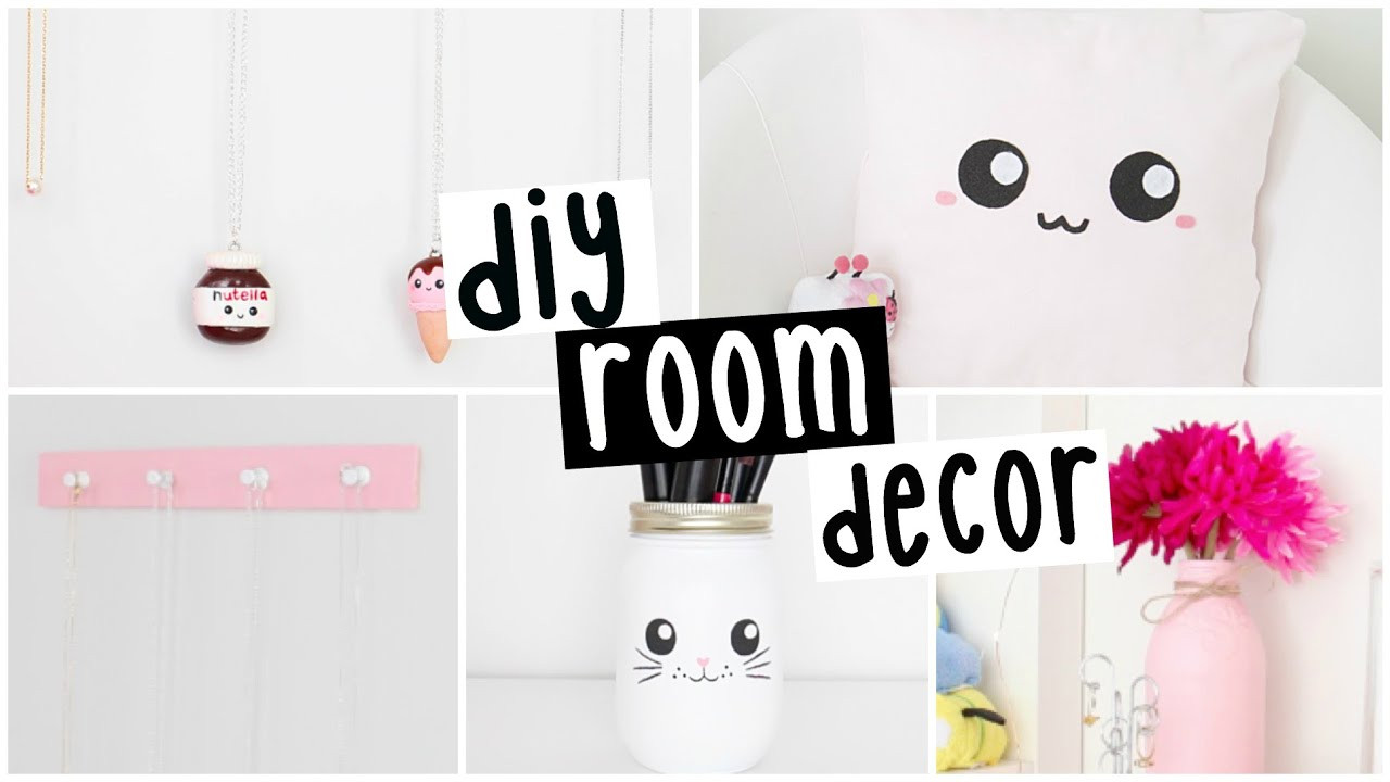 Best ideas about DIY For Room Decorations . Save or Pin DIY Room Decor Four EASY & INEXPENSIVE Ideas Now.