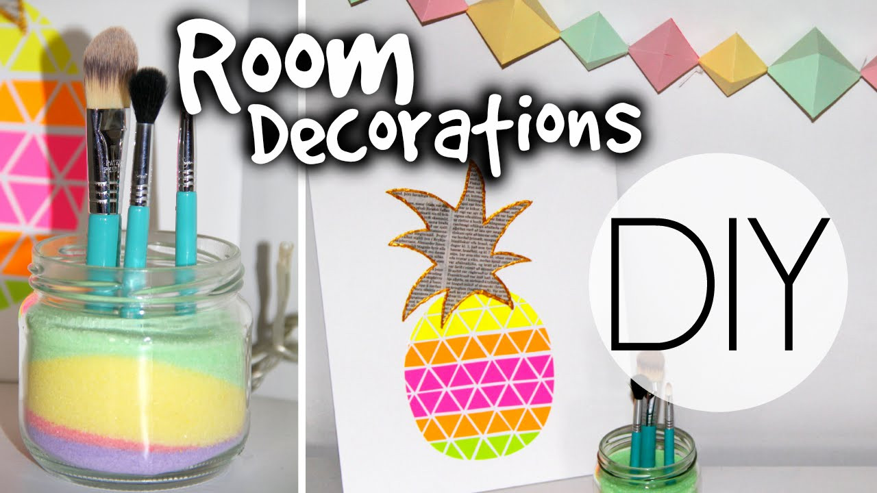 Best ideas about DIY For Room Decorations . Save or Pin DIY Summer Room Decorations Now.