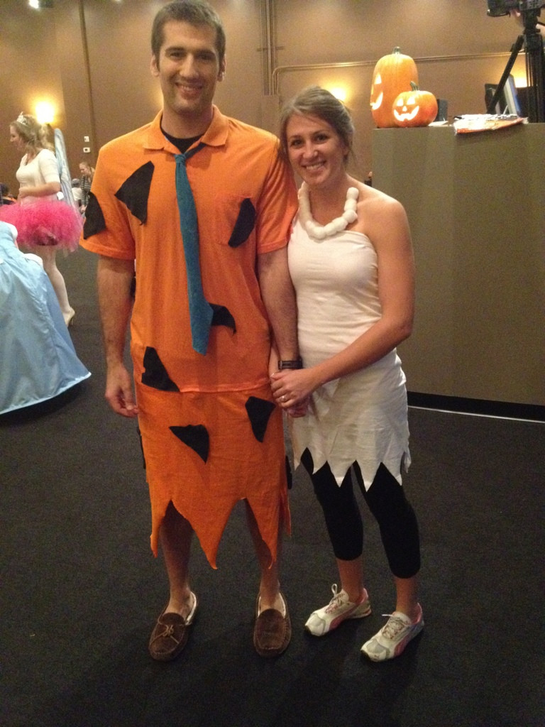 Best ideas about DIY Fred Flintstone Costume . Save or Pin Cheap DIY Halloween Costume Fred & Wilma Bud For Health Now.