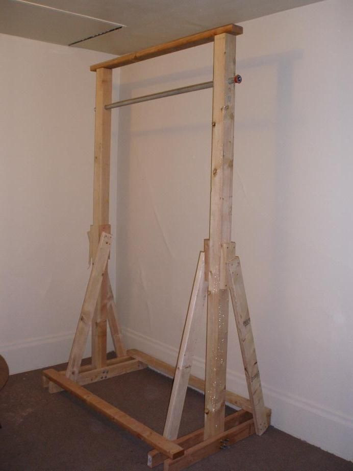 Best ideas about DIY Freestanding Pull Up Bar . Save or Pin 13 Best images about pull up bar on Pinterest Now.