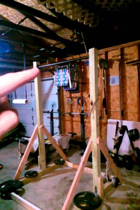 Best ideas about DIY Freestanding Pull Up Bar . Save or Pin DIY pull up station freestanding pull up bar Now.