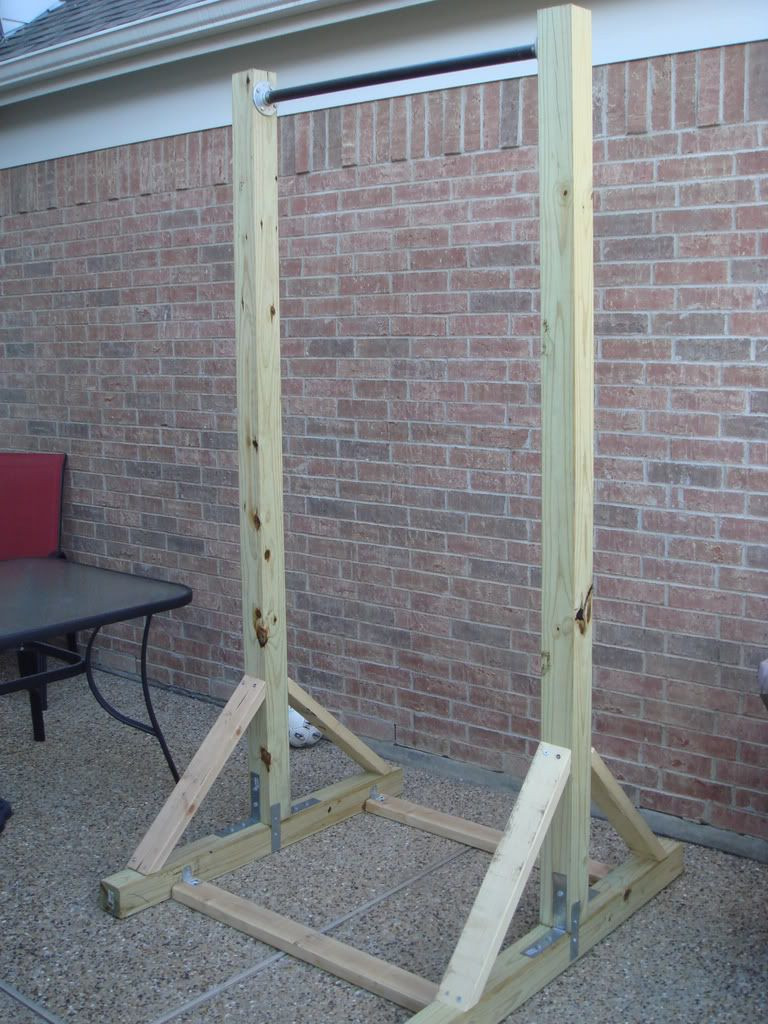 Best ideas about DIY Freestanding Pull Up Bar . Save or Pin DIY pull up bars on Pinterest make your own Now.