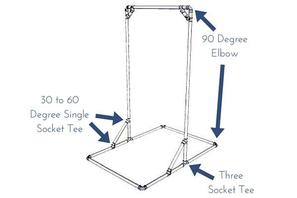 Best ideas about DIY Freestanding Pull Up Bar . Save or Pin DIY Free Standing Pull Up Bar Now.